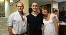 Abel Pintos y Luna Payasera eligen nuestro hotel.