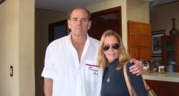 Maria Valenzuela hospedandose en nuestro hotel